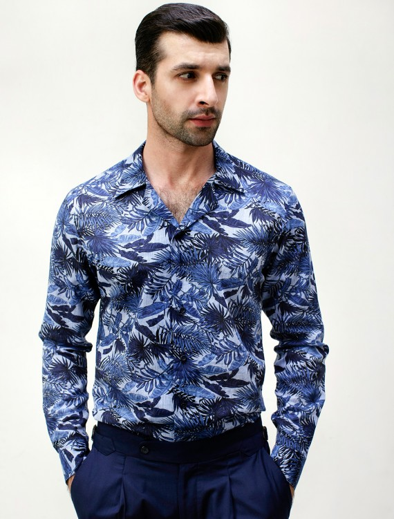 CLASSIC TROPICAL LEAF SHIRT