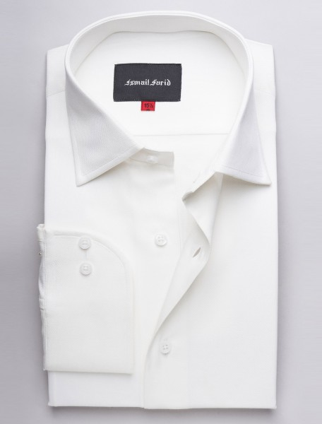 OFF WHITE BUSINESS WEAR SHIRT