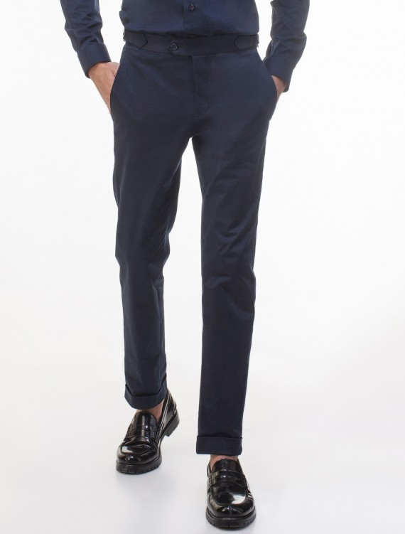 BLUE BUCKLE CHINO PANT